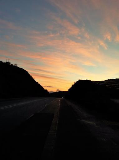 Bothmaskloof sunrise